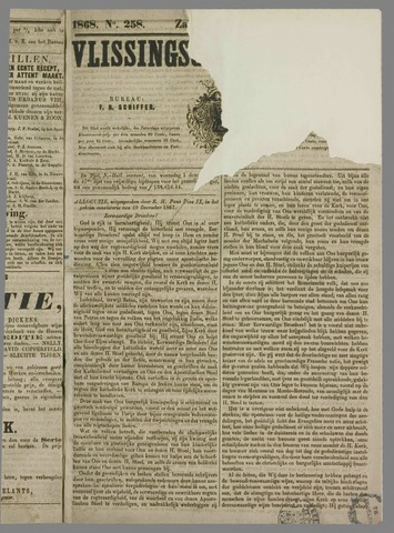 Vlissings Weekblad 1868