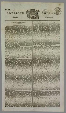 Goessche Courant 1833-07-22