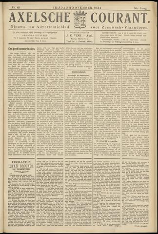 Axelsche Courant 1934-11-02