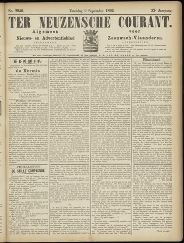 Ter Neuzensche Courant. Algemeen Nieuws- en Advertentieblad voor Zeeuwsch-Vlaanderen / Neuzensche Courant ... (idem) / (Algemeen) nieuws en advertentieblad voor Zeeuwsch-Vlaanderen 1893-09-09