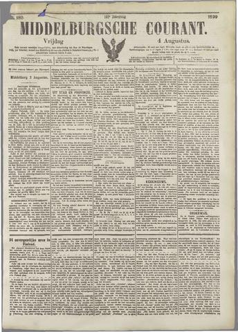 Middelburgsche Courant 1899-08-04