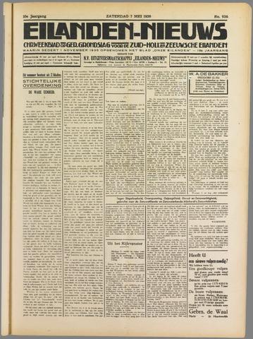 Eilanden-nieuws. Christelijk streekblad op gereformeerde grondslag 1938-05-07