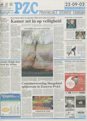 Provinciale Zeeuwse Courant 2002-09-19