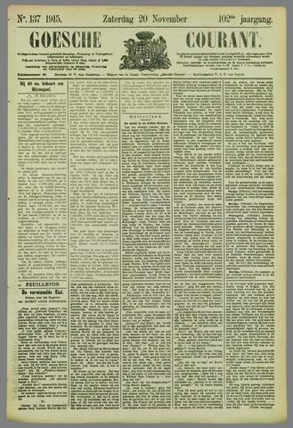 Goessche Courant 1915-11-20