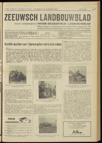 Zeeuwsch landbouwblad ... ZLM land- en tuinbouwblad 1952-08-23
