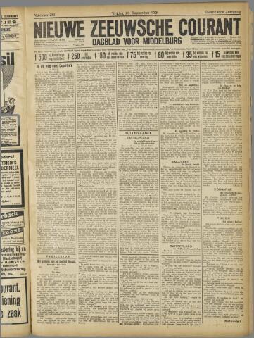 Nieuwe Zeeuwsche Courant 1921-09-23
