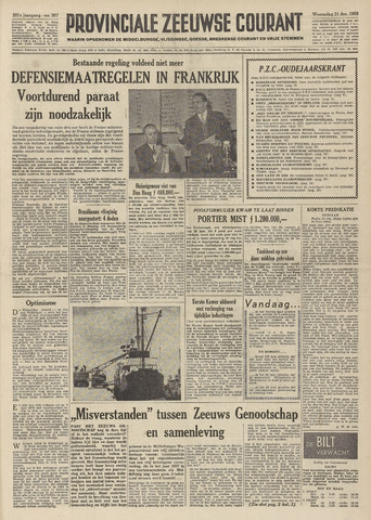 Provinciale Zeeuwse Courant 1958-12-31