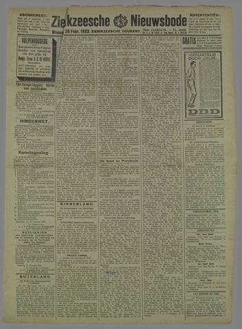 Zierikzeesche Nieuwsbode 1923-02-28