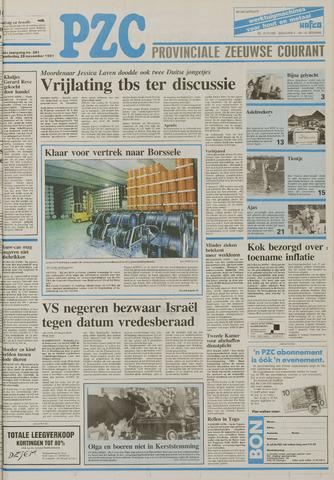 Provinciale Zeeuwse Courant 1991-11-28