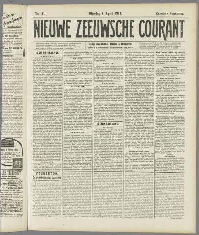Nieuwe Zeeuwsche Courant 1911-04-04
