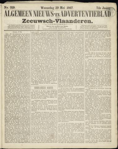 Ter Neuzensche Courant. Algemeen Nieuws- en Advertentieblad voor Zeeuwsch-Vlaanderen / Neuzensche Courant ... (idem) / (Algemeen) nieuws en advertentieblad voor Zeeuwsch-Vlaanderen 1867-05-29