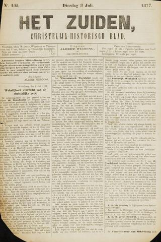 Het Zuiden, Christelijk-historisch blad 1877-07-03