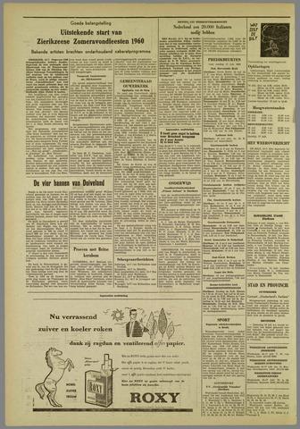 Zierikzeesche Nieuwsbode 1960-07-15