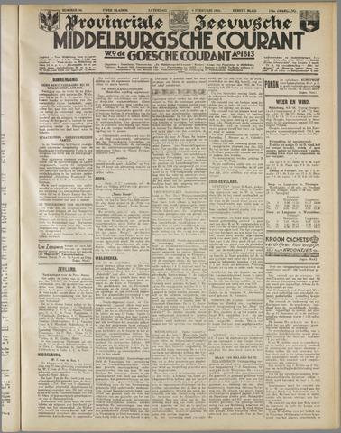 Middelburgsche Courant 1935-02-09