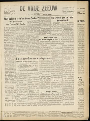 de Vrije Zeeuw 1951-02-06