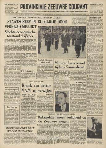 Provinciale Zeeuwse Courant 1961-06-15