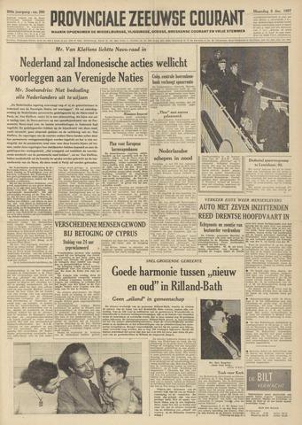 Provinciale Zeeuwse Courant 1957-12-09