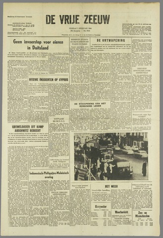 de Vrije Zeeuw 1964-02-07