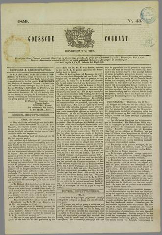 Goessche Courant 1850-05-30