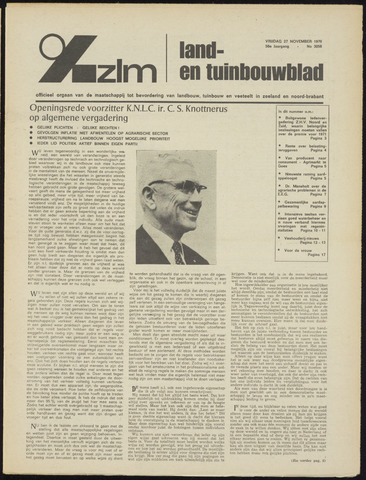 Zeeuwsch landbouwblad ... ZLM land- en tuinbouwblad 1970-11-25