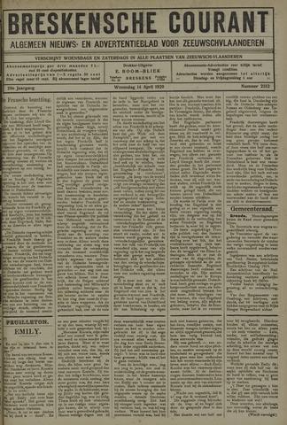 Breskensche Courant 1920-04-14