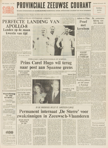 Provinciale Zeeuwse Courant 1968-12-28