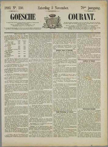 Goessche Courant 1883-11-03