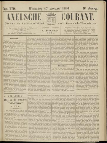 Axelsche Courant 1894-01-17
