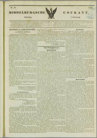 Middelburgsche Courant 1846-02-07