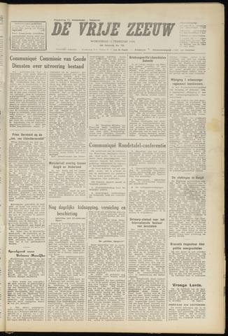 de Vrije Zeeuw 1948-02-11