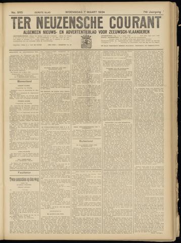 Ter Neuzensche Courant. Algemeen Nieuws- en Advertentieblad voor Zeeuwsch-Vlaanderen / Neuzensche Courant ... (idem) / (Algemeen) nieuws en advertentieblad voor Zeeuwsch-Vlaanderen 1934-03-07