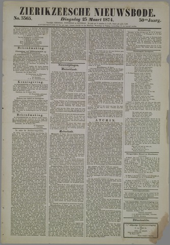 Zierikzeesche Nieuwsbode 1874-03-23