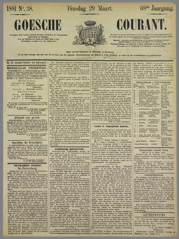 Goessche Courant 1881-03-29