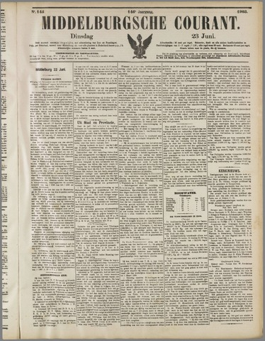 Middelburgsche Courant 1903-06-23