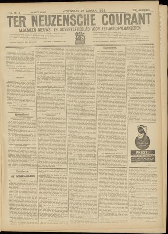 Ter Neuzensche Courant. Algemeen Nieuws- en Advertentieblad voor Zeeuwsch-Vlaanderen / Neuzensche Courant ... (idem) / (Algemeen) nieuws en advertentieblad voor Zeeuwsch-Vlaanderen 1938-01-26
