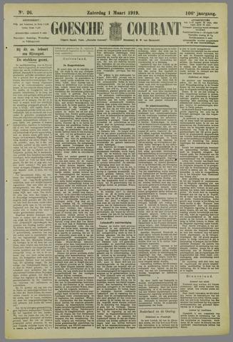 Goessche Courant 1919-03-01
