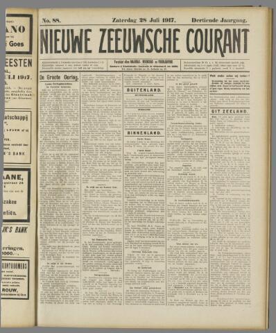 Nieuwe Zeeuwsche Courant 1917-07-28