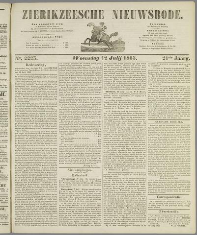 Zierikzeesche Nieuwsbode 1865-07-12