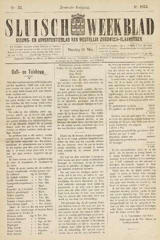 Sluisch Weekblad. Nieuws- en advertentieblad voor Westelijk Zeeuwsch-Vlaanderen 1875-05-11