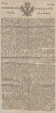 Middelburgsche Courant 1779-11-09