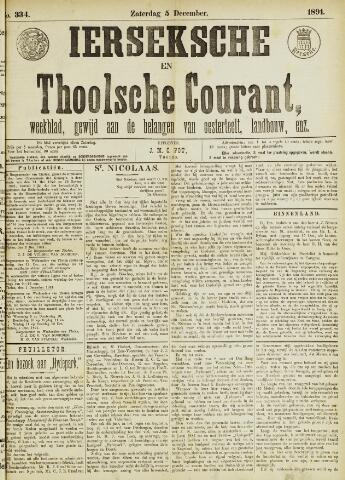 Ierseksche en Thoolsche Courant 1891-12-05
