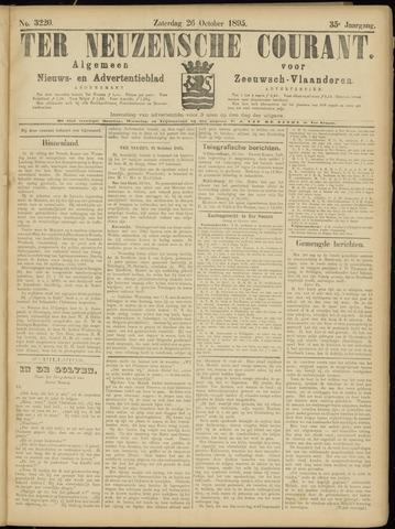 Ter Neuzensche Courant. Algemeen Nieuws- en Advertentieblad voor Zeeuwsch-Vlaanderen / Neuzensche Courant ... (idem) / (Algemeen) nieuws en advertentieblad voor Zeeuwsch-Vlaanderen 1895-10-26