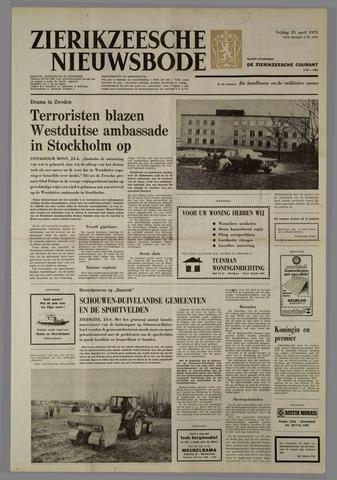 Zierikzeesche Nieuwsbode 1975-04-25