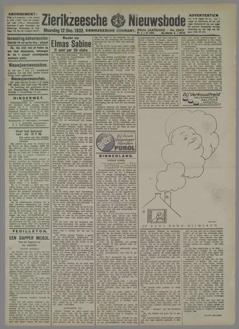 Zierikzeesche Nieuwsbode 1932-12-12