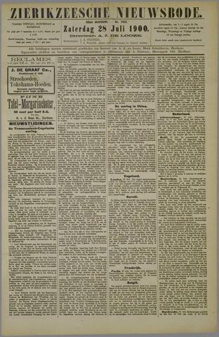 Zierikzeesche Nieuwsbode 1900-07-28