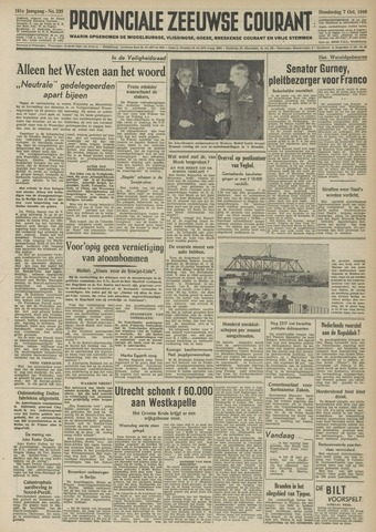 Provinciale Zeeuwse Courant 1948-10-07