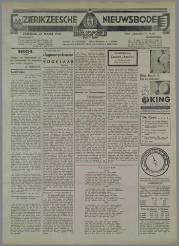 Zierikzeesche Nieuwsbode 1937-03-27