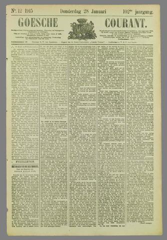 Goessche Courant 1915-01-28
