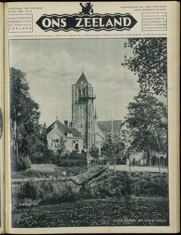 Ons Zeeland / Zeeuwsche editie 1932-07-29