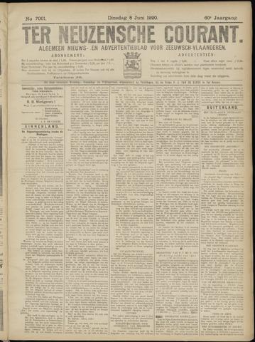 Ter Neuzensche Courant. Algemeen Nieuws- en Advertentieblad voor Zeeuwsch-Vlaanderen / Neuzensche Courant ... (idem) / (Algemeen) nieuws en advertentieblad voor Zeeuwsch-Vlaanderen 1920-06-08